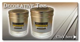 Click here to select the flavor of your Decorative Tin.